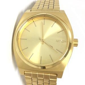 【中古】ニクソン メンズ腕時計 タイムテラー オールゴールド クオーツ A045511-00IP[jggw]|junglejungle