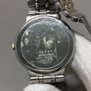 【中古】イブサンローラン レディース 腕時計 SS/GP クオーツ ホワイト ゴールド GN-7-S[jggW]|junglejungle|04