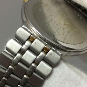 【中古】イブサンローラン レディース 腕時計 SS/GP クオーツ ホワイト ゴールド GN-7-S[jggW]|junglejungle|05