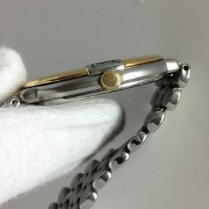 【中古】イブサンローラン レディース 腕時計 SS/GP クオーツ ホワイト ゴールド GN-7-S[jggW]|junglejungle|06