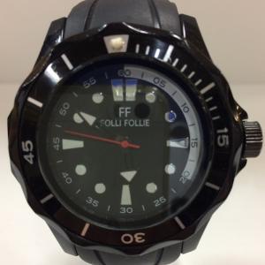 【中古】フォリフォリ メンズ腕時計 アナログ WT13P0012PK クオーツ ブラック[jggW]|junglejungle