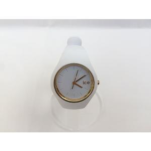 【中古】ICE アイス ユニセックス腕時計 グラム クオーツ ラバー ホワイト GL.WE.S.S.14[hs][jggW]|junglejungle