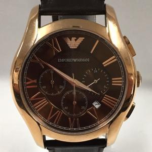 【中古】エンポリオアルマーニ メンズ腕時計 クラシック クロノグラフ AR1701[jggW]|junglejungle