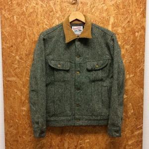 【中古】リー×ハリスツイード メンズ ツイードジャケット グレー 表記サイズ:M[jggI]|junglejungle