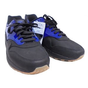 NIKE ナイキ エアマックス1 VT QX 831113-400メンズスニーカー レザー ブルー×ブラック 表記サイズ:28.0cm 靴【中古】[mo][GJ]|junglejungle