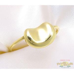 ティファニー ビーンズリング K18 ゴールド 約8 5号 約2 5g 指輪 新品仕上げ済み|junglejungle