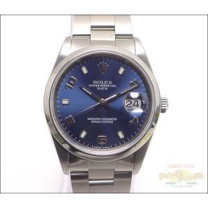 ロレックス オイスターパーペチュアルデイト 15200 SS メンズ腕時計|junglejungle