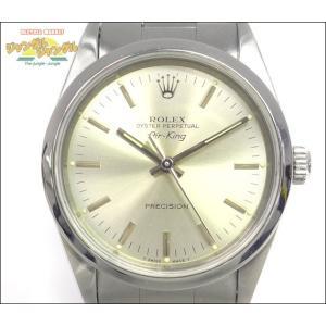 ロレックス エアキング メンズ腕時計 SS U番 14000|junglejungle