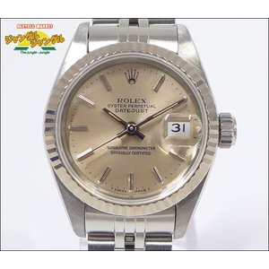 ロレックス デイトジャスト Ref 69174 N番 K18WG/SS レディース腕時計|junglejungle