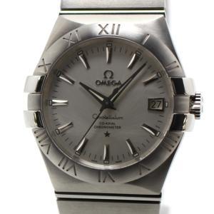 オメガ メンズ腕時計 コンステレーション コーアクシャル クロノメーター 自動巻き Ref. 123.10.35.20.02.001 SS シルバー文字盤|junglejungle