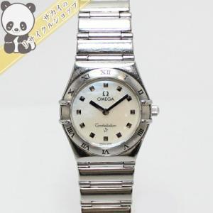 【中古】OMEGA レディース腕時計 クォーツ コンステレーション ミニマイチョイス シェル文字盤 SS シルバー 1561.71オメガ 【レディース】【Watch】|junglejungle