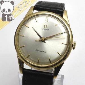 【中古】OMEGA OMEGA シーマスター アンティーク K18YG 手巻き 腕時計オメガ 【Watch】【メンズ】【新品仕上げ済み】|junglejungle