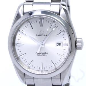 【中古】OMEGA シーマスター アクアテラ メンズ腕時計 クオーツ ステンレス シルバー文字盤 2518.30 オメガ|junglejungle