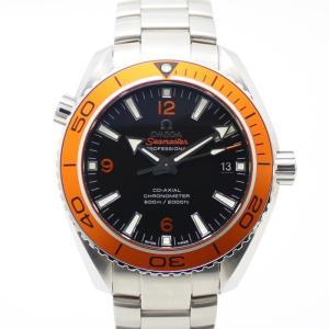 【中古】オメガ メンズ腕時計 シーマスター プラネットオーシャン 自動巻き SS シルバー/オレンジ/ブラック 232.30.42.21.01.002|junglejungle
