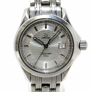 【中古】OMEGA シーマスター120 レディース腕時計 デイト SS クオーツ 文字盤シルバー 2571.31 オメガ 【レディース】【watch】|junglejungle