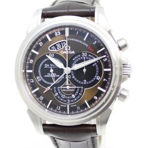 【中古】オメガ デ・ヴィル(デビル) クロノスコープ コーアクシャル GMT 腕時計 ステンレス 自動巻き/AT 422.13.44.52.13.001|junglejungle
