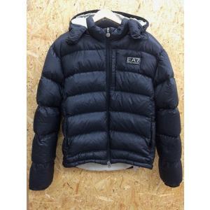 【中古】エンポリオ アルマーニ EA7 メンズ ダウンジャケット ブラック 表記サイズ:L[jggI]|junglejungle