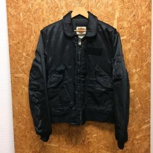 【中古】ハーレーダビッドソン メンズ フライトジャケット ブラック サイズM[jggI]|junglejungle