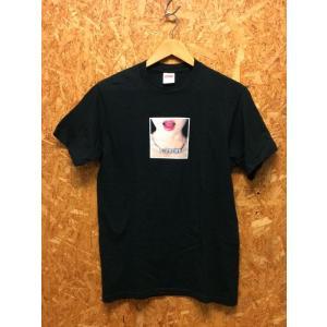 【中古】シュプリーム 半袖Tシャツ ネックレス コットン ブラック サイズS メンズ[jggI]|junglejungle