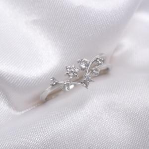 【中古】サマンサ タバサ ホワイトゴールド リング トパーズ/サファイア/ムーンストーン K18WG サイズ約9号 【新品同様】 指輪【Jewelry】|junglejungle