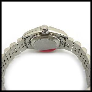 ロレックス デイトジャスト Ref 79174 K番 SS 自動巻き ブルー文字盤 レディース腕時計|junglejungle|04