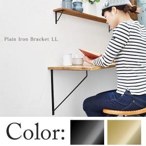 プレーンアイアン ブラケット LL junk-colors