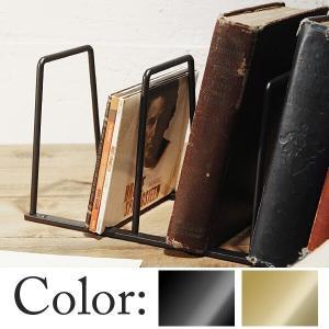 プレーンアイアン ブックスタンド L junk-colors