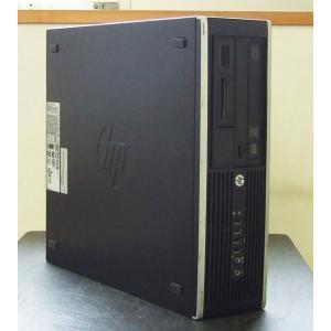 【ジャンク品】HP compaq Pro 6300 SFF(QV985AV) Celeron G1610 2.60GHz HDD無し 4GB(メモリーカードリーダー付き)