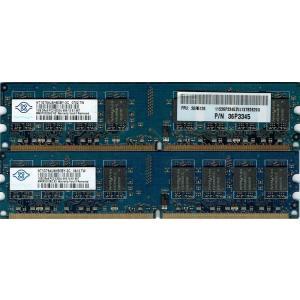 【未確認品】NANYA製 2Rx8 PC2-5300U 1GB/2枚SET(2GB)|junkpcnet