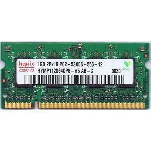 【未確認品】ハイニックス【hynix】 S.O.DIMM 2Rx16 PC2-5300S 1GB (ノート用) junkpcnet