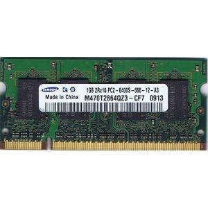 【未確認品】SAMSUNG製 S.O.DIMM 1GB 2Rx16 PC2-6400S (ノート用) junkpcnet