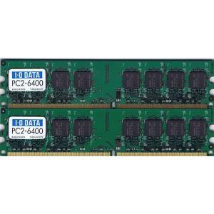 【未確認品】I・O DATA製 PC2-6400 1GB|junkpcnet
