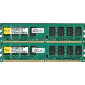 【未確認】CFD製 1RX8 PC2-6400U 1GB(片面実装)|junkpcnet