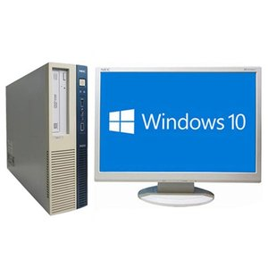 送料無料 中古パソコン NEC Mate MB-G (1283299)【Win10 64bit】【Core i5-4570】【メモリ4GB】【HDD320GB】【マルチ】