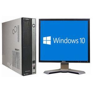 中古 パソコン 富士通 ESPRIMO D550/BW (1289158) 送料無料 Win10  Core2Duo メモリ2GB HDD250GB|junkworld-webshop