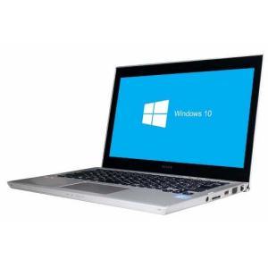 送料無料 中古パソコン SONY VAIO SVT131B11N (132362)♪【Win10 64bit】【webカメラ】【HDMI端子】【Core i3-3227U】【メモリ4GB】【HDD500GB