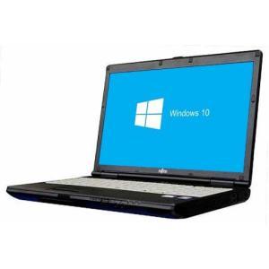 送料無料 中古パソコン 富士通 FMV-LIFEBOOK A572/F (1400559)【Win10 64bit】【HDMI端子】【テンキー付】【Core i5-3320M】【メモリ4GB】【HDD