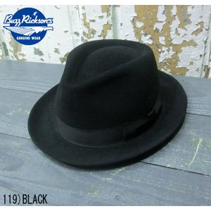 """No.BR02392 BUZZ RICKSON'S バズリクソンズWILLIAM GIBSON COLLECTION""""FEDRA HAT""""専用化粧箱入り junkyspecial"""