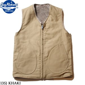 No.BR14402 BUZZ RICKSON'S バズリクソンズVEST,DECK,REVERSIBLE|junkyspecial