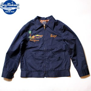 No.BR14416 BUZZ RICKSON'S バズリクソンズEMBROIDERED SOUVENIR JACKET,COTTON-RAYON|junkyspecial