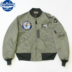 """No.BR14826 BUZZ RICKSON'S バズリクソンズtype L-2B """"TOPS APPAREL MFG. CO. INC.""""SNOOPY PATCH