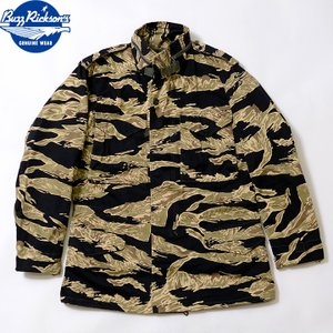 No.BR14858 BUZZ RICKSON'Sバズリクソンズ type M-65 GOLD TIGER PATTERN CIVILIAN MODEL|junkyspecial