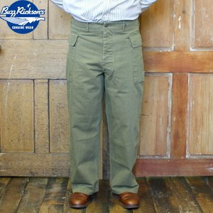 No.BR41989 BUZZ RICKSON'S バズリクソンズTROUSERS, SPECIAL HERRINGBONE TWILL|junkyspecial