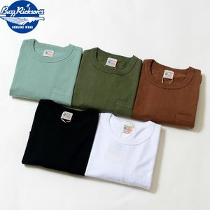 No.BR78711 BUZZ RICKSONS バズリクソンズ S/S POCKET T-SHIRT|junkyspecial