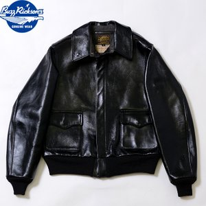 No.BR80596 BUZZ RICKSON'S バズリクソンズ WILLIAM GIBSON COLLECTION type BLACK A-2|junkyspecial