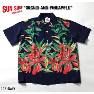 """No.DK36651 DUKE KAHANAMOKU デュークカハナモクS/S SPECIAL EDITION""""ORCHID AND PINEAPPLE"""" junkyspecial"""