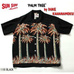 "No.DK37252 DUKE KAHANAMOKU デュークカハナモクS/S SPECIAL EDITION""PALM TREE"" junkyspecial"