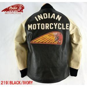 No.IM80400 INDIAN MOTORCYCLE インディアンモーターサイクルHORSE HIDE PHARAOH JACKET DECORATION junkyspecial