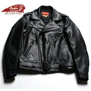 No.IM80494 ALLSTATE × INDIAN MOTORCYCLEHORSE HIDEDOUBLE RIDERS JACKET junkyspecial