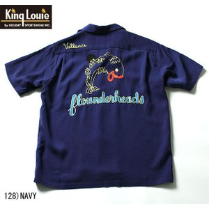 "No.KL37273 KING LOUIE キングルイTen STRIKE""FLOUNDER HEADS"" junkyspecial"